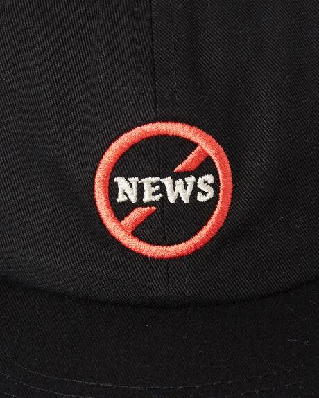 WASHED BLACK MENS ACCESSORIES NO NEWS HEADWEAR - N52141610WBLK