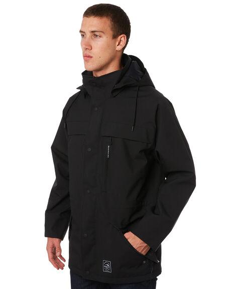 BLACK MENS CLOTHING DEPACTUS JACKETS - D5171381BLACK