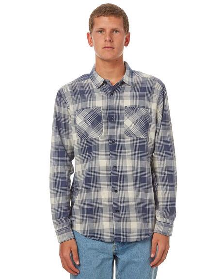 SILVER BLEACH MENS CLOTHING RVCA SHIRTS - R371184SILB