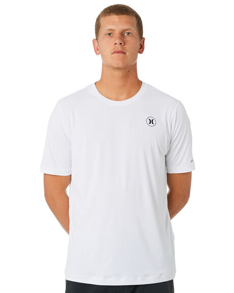 92ed0c63 Hurley Dri-Fit Icon Short Sleeve Surf Tee - White   SurfStitch
