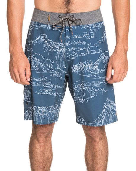MIDNIGHT NAVY MENS CLOTHING QUIKSILVER BOARDSHORTS - EQMBS03079-BSL6