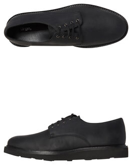 BLACK MENS FOOTWEAR URGE FASHION SHOES - URG16172-BLK