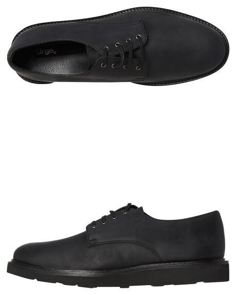 BLACK MENS FOOTWEAR URGE FASHION SHOES - URG16172-BLK