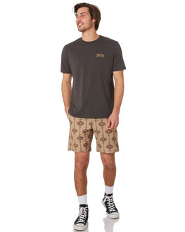 OLIVE MENS CLOTHING RHYTHM BOARDSHORTS - OCT19M-JM07-OLI