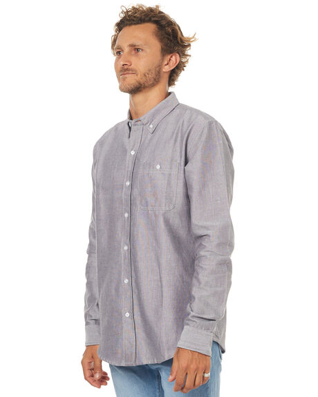 BLACK OUTLET MENS EZEKIEL SHIRTS - EL173047BLK