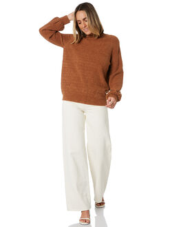 CAMEL WOMENS CLOTHING THE HIDDEN WAY JUMPERS - H8204146CAMEL