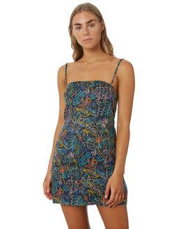 BLACK SUMMER WOMENS CLOTHING COOLS CLUB DRESSES - 208-CW5BKSM