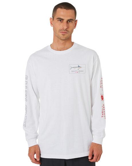 WHITE MENS CLOTHING SALTY CREW TEES - 20135186WHT