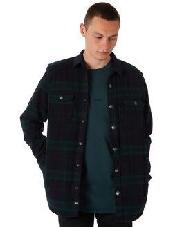 BOTTLE GREEN MENS CLOTHING GLOBE SHIRTS - GB01834010BRTL