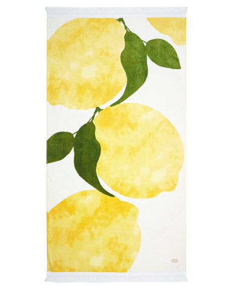 LEMON WOMENS ACCESSORIES TIGERLILY TOWELS - T482893LMN