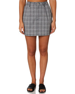 CHECK WOMENS CLOTHING A.BRAND SKIRTS - 71507-4543