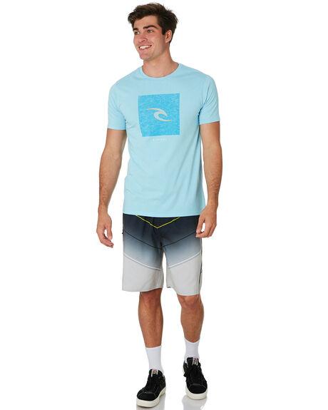 BLUE RIVER MENS CLOTHING RIP CURL TEES - CTESD29742