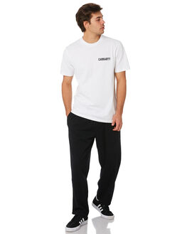 WHITE BLACK MENS CLOTHING CARHARTT TEES - I02480602