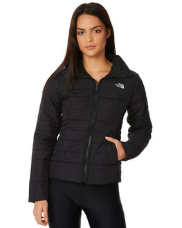 BLACK WOMENS CLOTHING THE NORTH FACE JACKETS - NF0A35BYJK3BLK