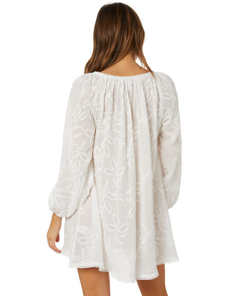 ANTIQUE WHITE WOMENS CLOTHING TIGERLILY DRESSES - T602411AWT