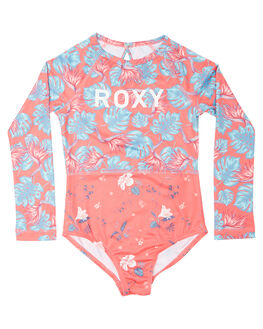 RED ABYSSAL TROPICAL KIDS TODDLER GIRLS ROXY SWIMWEAR - ERLWR03067MLJ6