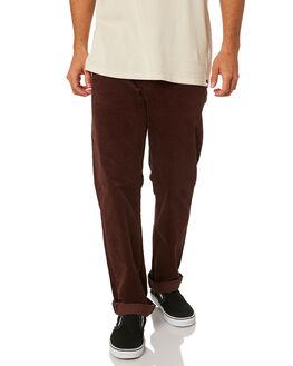 BORDEAUX BROWN MENS CLOTHING VOLCOM PANTS - A1141801BXB