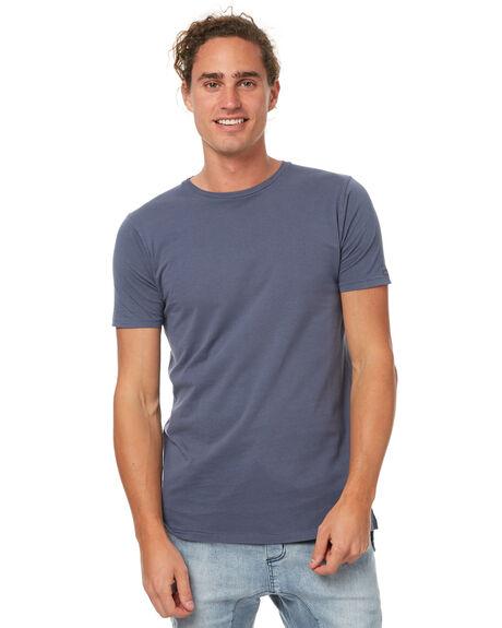 BLUE GREY MENS CLOTHING ZANEROBE TEES - 101-WANBGRY