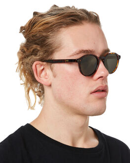POLISHED TORT MENS ACCESSORIES LOCAL SUPPLY SUNGLASSES - STATIONTLP2