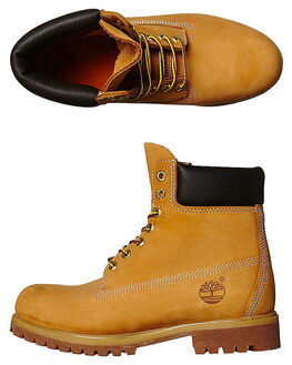 WHEAT MENS FOOTWEAR TIMBERLAND BOOTS - 10061WHEA