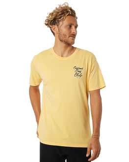 YELLOW MENS CLOTHING OAKLAND SURF CLUB TEES - AW18T6004