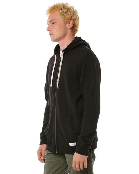 DIRTY BLACK MENS CLOTHING BANKS JUMPERS - WFL0114DBL