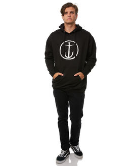 BLACK MENS CLOTHING CAPTAIN FIN CO. JUMPERS - CF174331BLK