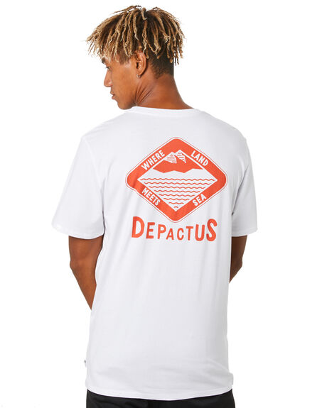 WHITE MENS CLOTHING DEPACTUS TEES - D5204002WHITE