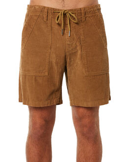 TOBACCO MENS CLOTHING RHYTHM SHORTS - JUL18M-WS01TOB