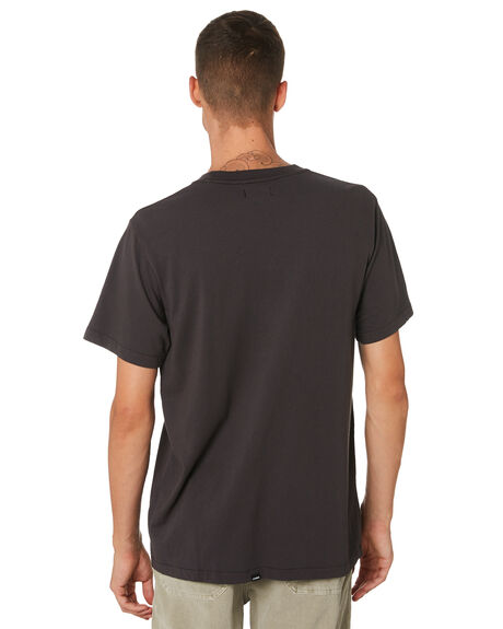 MERCH BLACK MENS CLOTHING THRILLS TEES - TH9-126MBMCBLK