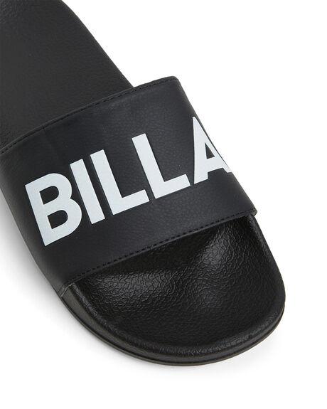 BLACK WOMENS FOOTWEAR BILLABONG SLIDES - BB-6608825-BLK