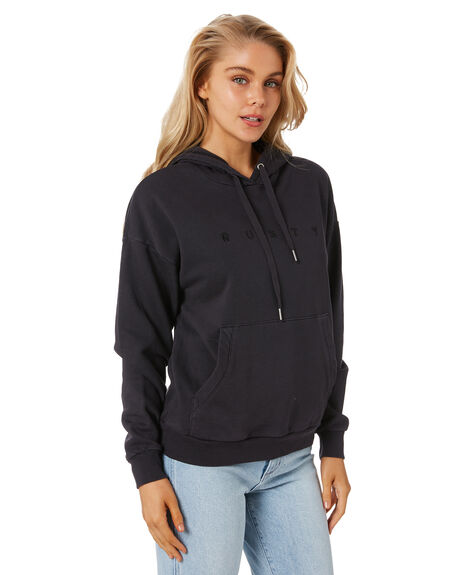 BLACK WOMENS CLOTHING RUSTY JUMPERS - FTL0748-BLK