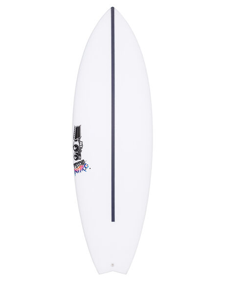 CLEAR BOARDSPORTS SURF JS INDUSTRIES SURFBOARDS - JSHFPNCLR