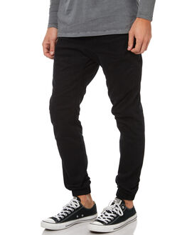 BLACK MENS CLOTHING ZANEROBE PANTS - 760-MTGBLK