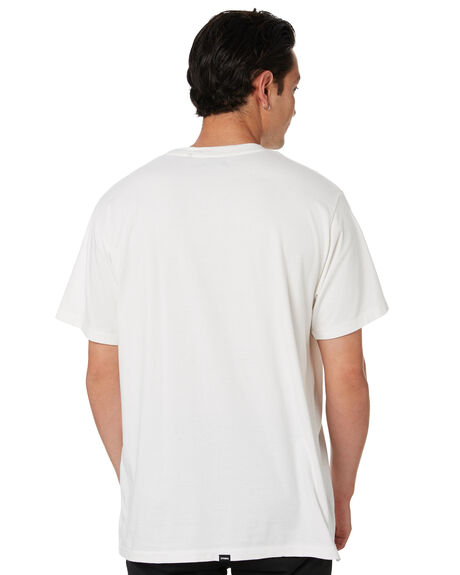 DIRTY WHITE MENS CLOTHING THRILLS TEES - SMU20-145ADWT