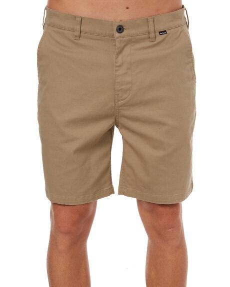 KHAKI MENS CLOTHING HURLEY SHORTS - AH5266235