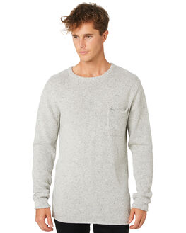 GREY MARLE MENS CLOTHING RIP CURL KNITS + CARDIGANS - CSWEB10085