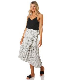 WHITE GREY WOMENS CLOTHING MINKPINK SKIRTS - MP1908440WHTGR