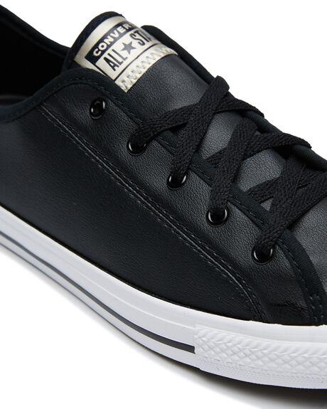 BLACK WOMENS FOOTWEAR CONVERSE SNEAKERS - 570327BLK