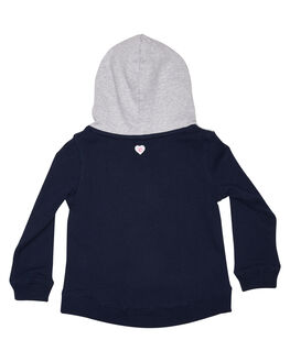 GREY NAVY KIDS GIRLS EVES SISTER JUMPERS + JACKETS - 8035023GRM