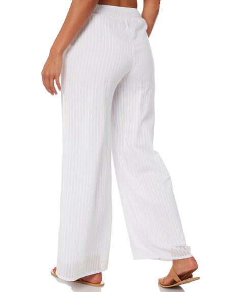 WHITE WOMENS CLOTHING RUSTY PANTS - SCL0342WHT