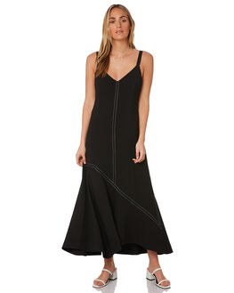 BLACK WOMENS CLOTHING C&M CAMILLA AND MARC DRESSES - WCMD1590BLK
