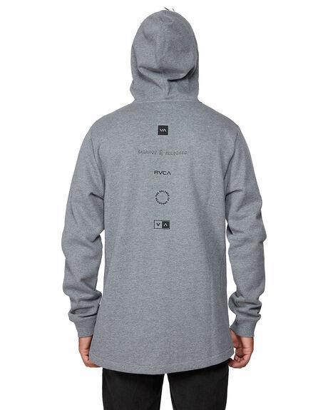 GREY MARLE MENS CLOTHING RVCA JUMPERS - RV-R107154-GYM