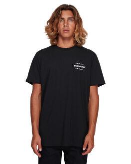 BLACK MENS CLOTHING BILLABONG TEES - BB-9591006-BLK