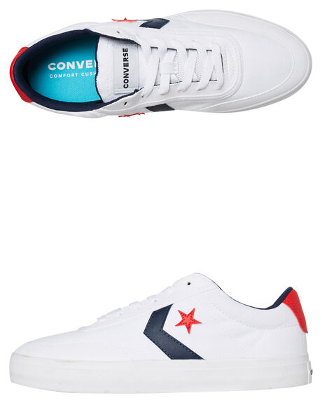 WHITE MENS FOOTWEAR CONVERSE SNEAKERS - 167005CWHT