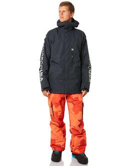RED ORANGE DCU CAMO BOARDSPORTS SNOW DC SHOES MENS - EDYTP03036NMN6
