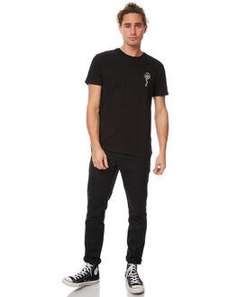 BLACK MENS CLOTHING BILLABONG TEES - 9571066BLK