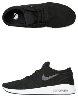 BLACK MENS FOOTWEAR NIKE SKATE SHOES - AQ7477001
