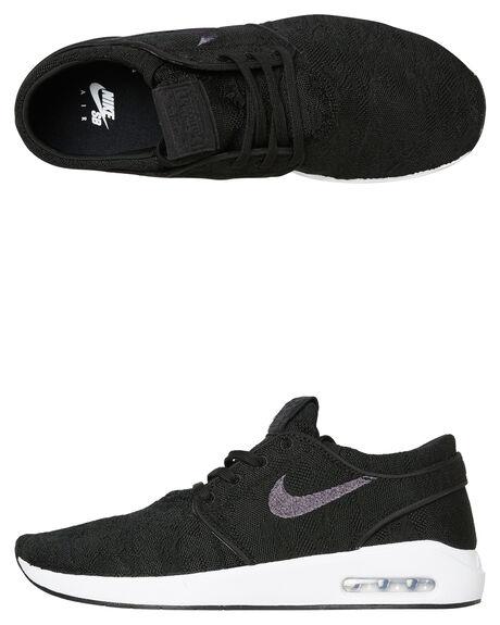 BLACK MENS FOOTWEAR NIKE SKATE SHOES - AQ7477001
