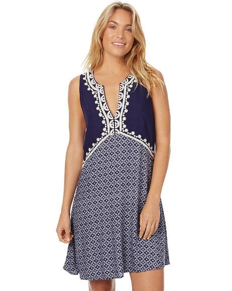 INDIGO WOMENS CLOTHING TIGERLILY DRESSES - T375406IND